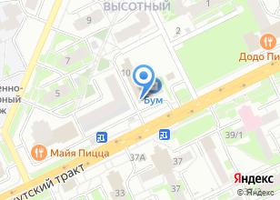 Компания «Батель» на карте