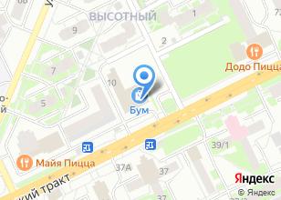 Компания «Томская Добротная Мебель» на карте