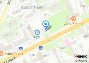 Компания «Газпромнефть-Новосибирск» на карте