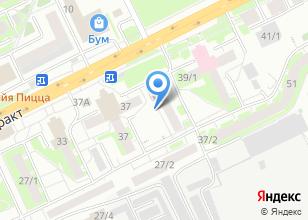 Компания «NEXT» на карте