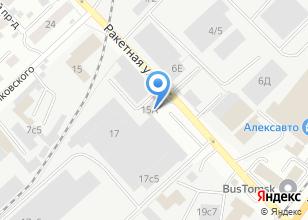 Компания «Центр материально-технического обеспечения ФПС по Томской области» на карте
