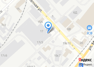 Компания «ТомскМеталлоПласт» на карте