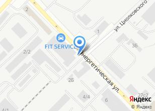 Компания «Магазин автозапчастей для Cummins и Foton» на карте