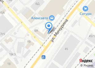 Компания «Агротехсервис» на карте