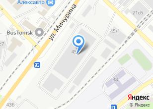 Компания «Сибирская снабжающая компания» на карте