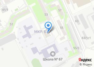 Компания «Альтрас» на карте