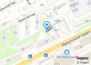 Компания «Денталия» на карте