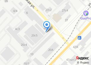 Компания «Авангард-Эвакуатор» на карте