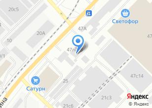 Компания «Аарон-авто» на карте