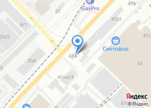 Компания «Тех-сервис» на карте