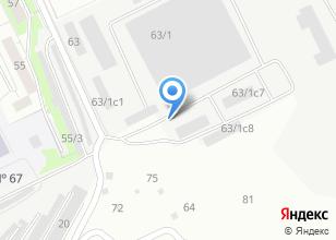 Компания «Томскавтосервис» на карте