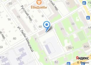 Компания «ПринтКурьерСервис» на карте