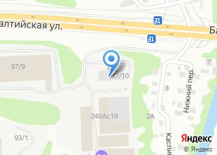 Компания «Tech-art» на карте