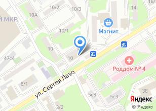 Компания «Мастерская по ремонту компьютеров и сотовых телефонов» на карте