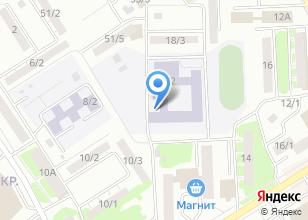 Компания «Средняя общеобразовательная школа №25» на карте