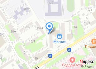 Компания «FaceCar» на карте