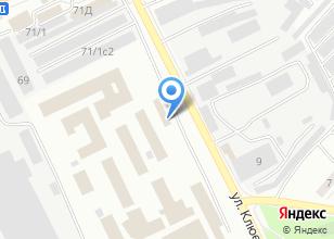 Компания «Лечебно-исправительное учреждение-1 УФСИН России по Томской области» на карте