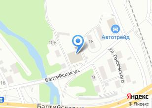 Компания «Шеф мастер» на карте