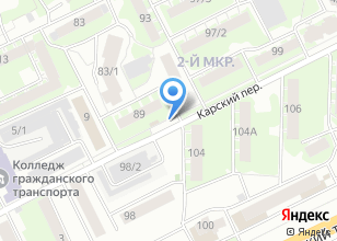 Компания «БОБЁР» на карте