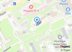 Компания «Отдел полиции №4 Октябрьский» на карте
