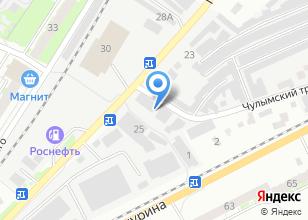 Компания «Автоэлектрика Сервис» на карте