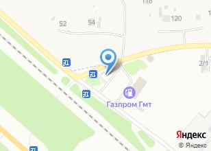 Компания «Метанавтосервис» на карте
