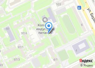 Компания «Томский колледж дизайна и сервиса» на карте