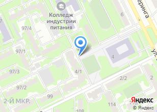 Компания «Суши Кот» на карте