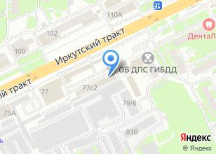 Компания «Аварком 210-210» на карте