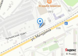 Компания «AvtoVS» на карте