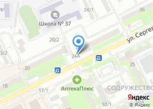 Компания «VitCoin» на карте