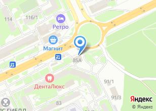 Компания «Магазин автодеталей» на карте