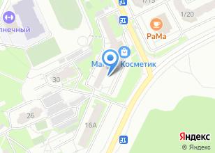 Компания «Бирюкова 26» на карте