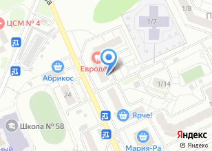 Компания «Здоровый Я» на карте