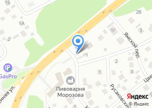 Компания «Автотест» на карте