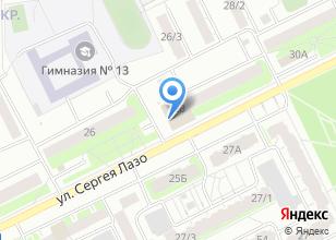 Компания «АвтоSTOP» на карте