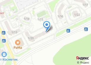 Компания «IREN» на карте