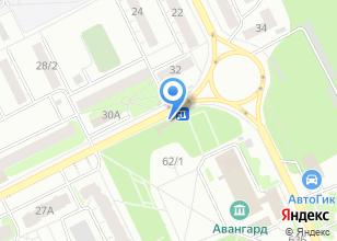 Компания «Чёлка» на карте