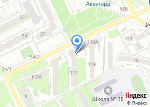 Компания «Краски» на карте