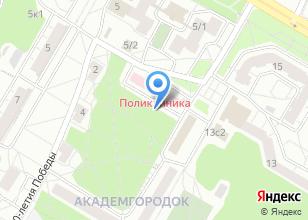 Компания «Поликлиника ТНЦ СО РАН» на карте