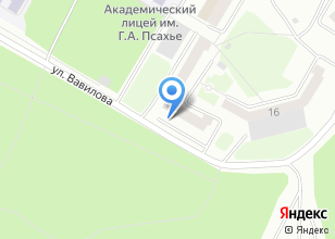 Компания «Отдел судебных приставов Советского района г. Томска» на карте