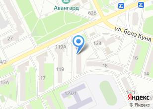 Компания «Руки-Ножницы» на карте
