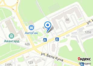 Компания «Extra» на карте