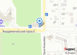Компания «Академик» на карте