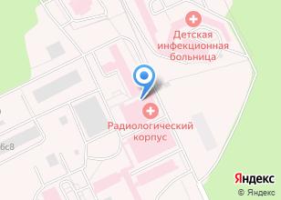 Компания «Томский областной онкологический диспансер» на карте