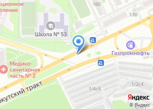 Компания «Магистраль авто» на карте