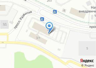 Компания «CenteraSoft» на карте