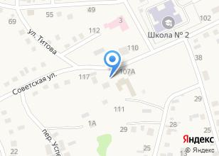 Компания «Территориальный центр социальной помощи семье и детям Смоленского района» на карте
