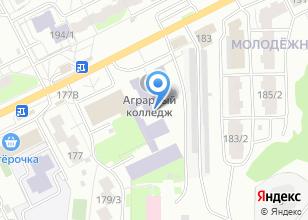 Компания «Томский аграрный колледж» на карте