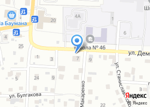 Компания «ДБ7» на карте